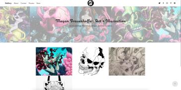 Megan Frauenhoffer portfolio page