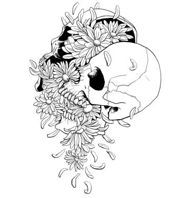 Pushing Up Daisies sketch