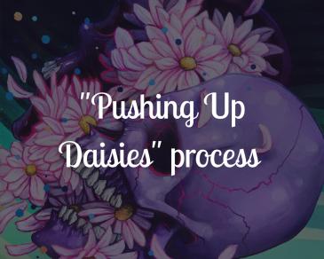 Pushing Up Daisies blog title image