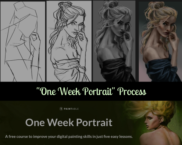 One Week Portrait banner