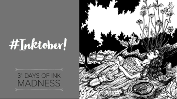 Blog featured image - INKtober