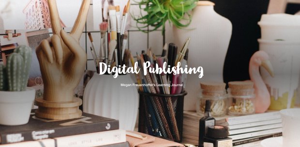Digital Publishing Learning Journal