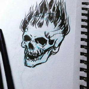 Inktober -roasted