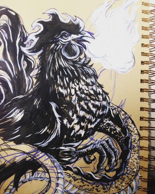 Inktober - Chicken