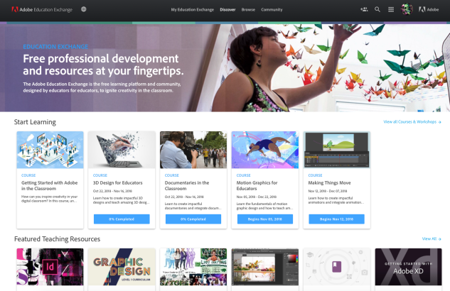 Adobe Education Exchange