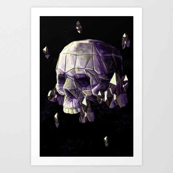 skull-11-crystals-prints