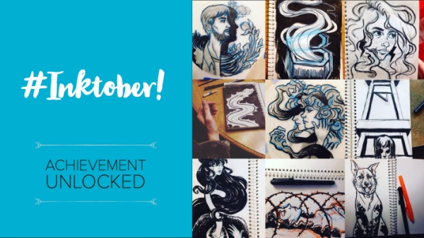 inktober achievement unlocked post featured image
