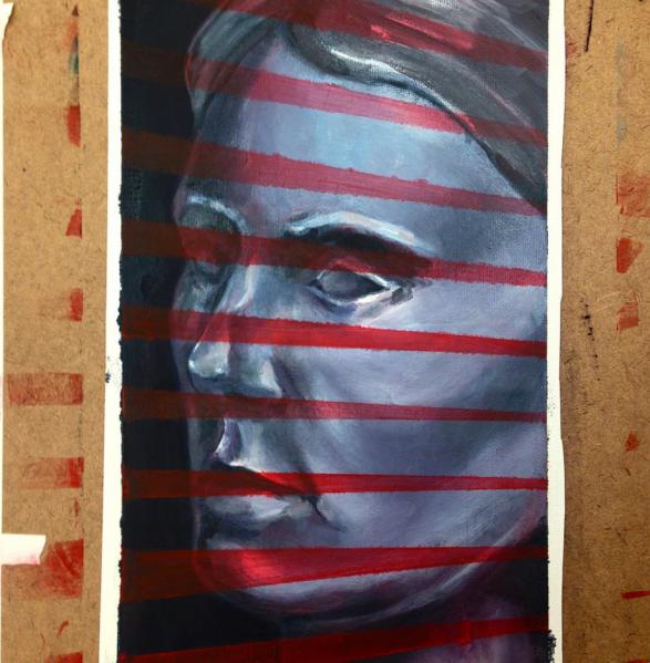 Oil Painting portrait - masking techniques
